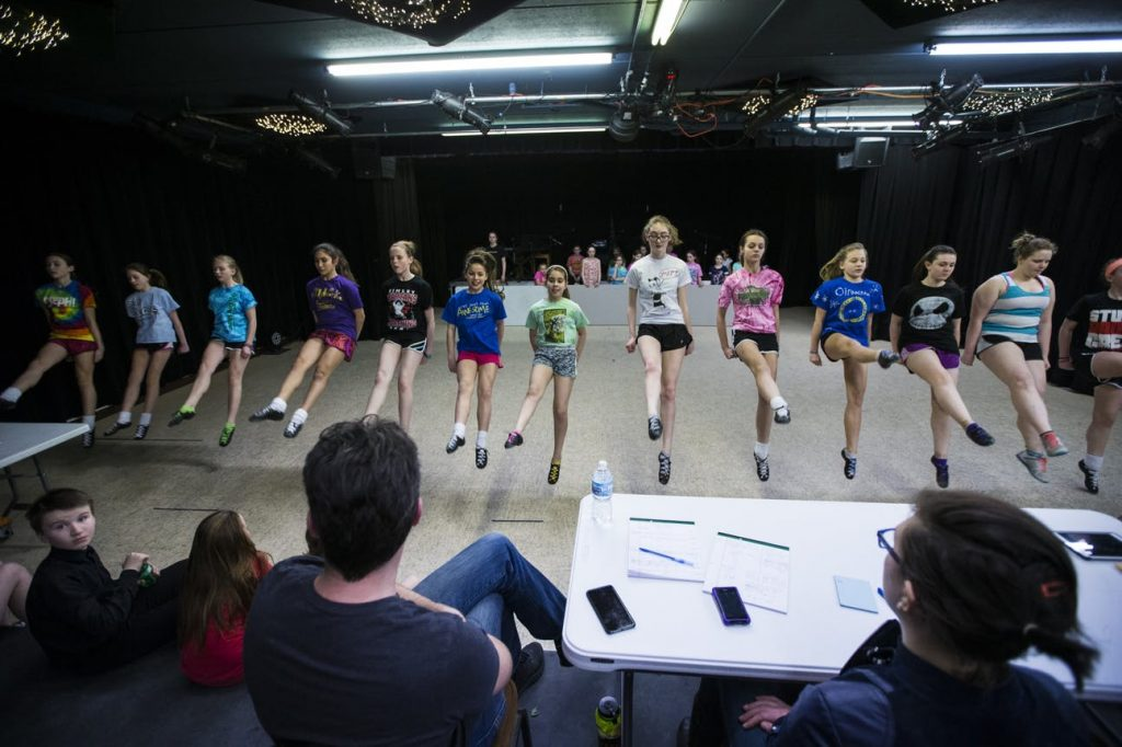 OID dancers rehearse