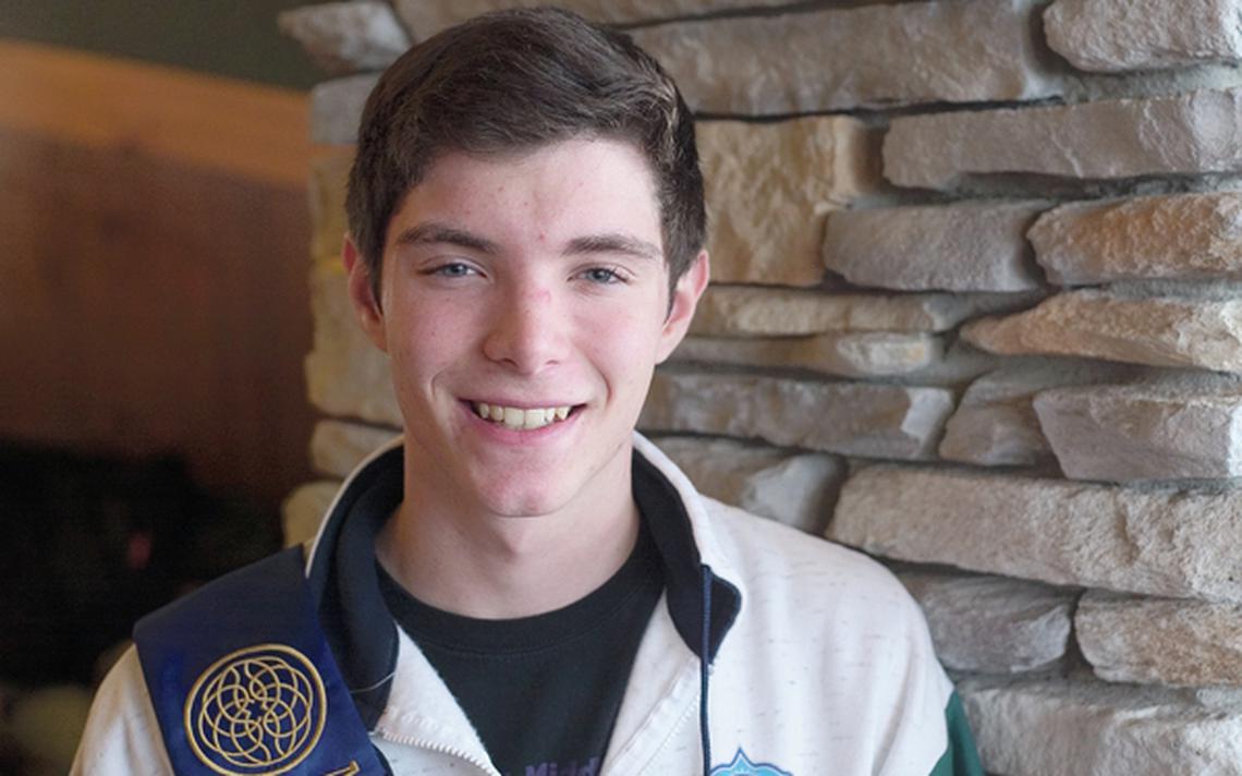 Evan Lowe, Freshman in Highschool