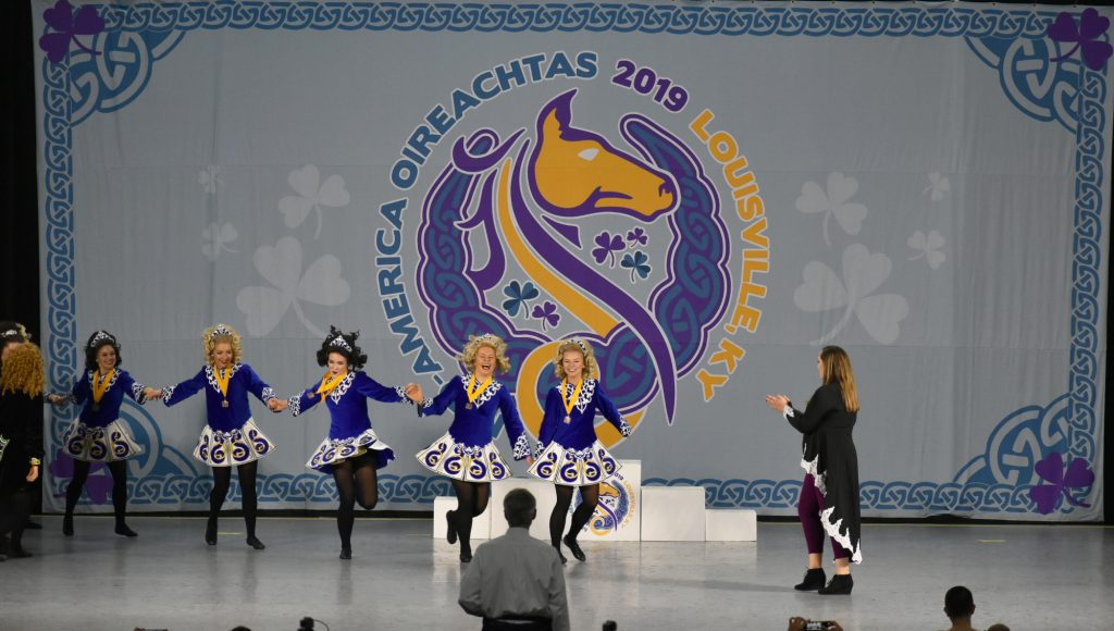 O18 Ladies Ceili team