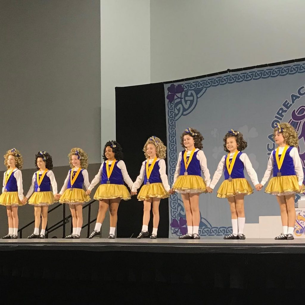 Wee girls ceili team